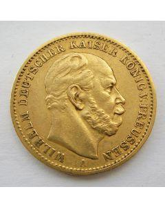 Duitsland (Pruissen), 20 mark 1873