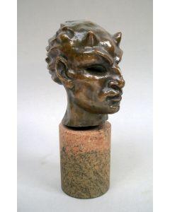 Adrianus Remiëns, Faun, brons, ca. 1925
