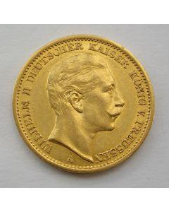 Duitsland (Pruissen), 20 mark 1907