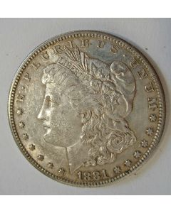 U.S.A. zilveren dollar, 1881S