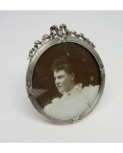 Zilveren fotolijst, ca. 1900