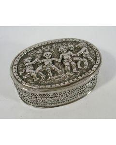 Zilveren snuifdoosje, ca. 1900
