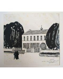 Willem van Konijnenburg, Huize 'Door Vlijt', Meerssen, 1900