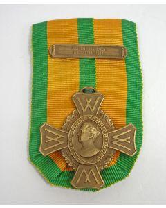 Oorlogsherinneringskruis, met gesp 'Arnhem-Nijmegen-Walcheren 1944'