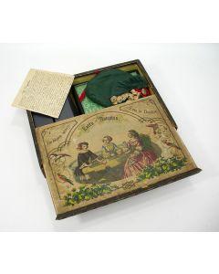 Bordspel, 'Lotto Dauphin', ca. 1830/40
