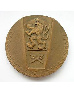 Erepenning van het volksleger van Tsjechoslowakije