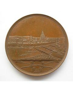 Medaille van de Frankfurter Regatta Verein, Frankfurt am Main (D),1895