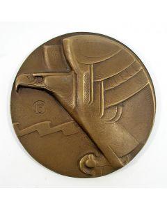 Gietpenning, Eerste Passagiersvlucht van Nederland naar Nederlands Indië 1927 [Chris van der Hoef]