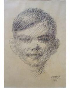 Johan Briedé, Jongensportret, 1927