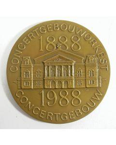 Penning 100 jaar Concertgebouw en Concertgebouworkest 1988 [Henk van Bommel]