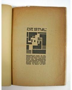 Exemplaar van 'de Stijl', 1e jaargang no. 8 (juni 1918)