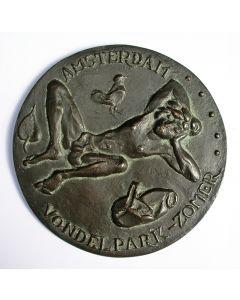 Jaarpenning VPK 1973, Vondelparkslaper [Johan Jorna]