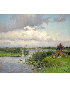Arie Zwart, Aan de plassen te Nieuwkoop