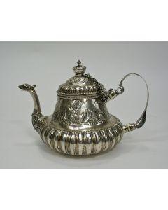 Zilveren theepot, Hotse van Sinderen, Dokkum 1746