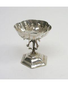 Zilveren miniatuur tazza, Amsterdam 17e eeuw