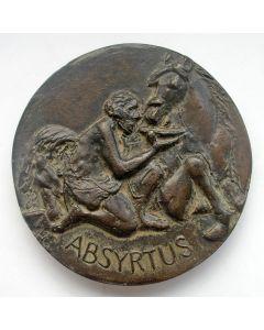 Gietpenning 'Absyrtus', Henk Göbel voor Fidin, 1986