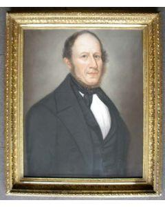 Berend Kunst, portret van J.J. Korsten, Brouwershaven, 1858