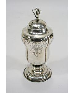 Zilveren strooibus, Lambertus Nieborg, Groningen, 1770/71