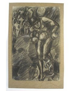 Cris Agterberg, 'De baanbreker', tekening, 1923