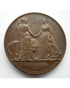 Penning, Koning Willem III bezoekt Utrecht, 1853