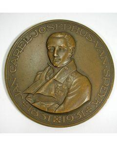 Jaarpenning VPK 1931 (#1), Herdenking van de heldendood van J.C.J. van Speyk 1831-1931 [J.J. van Goor]