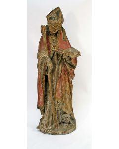 Houten heiligenbeeld, Rijnland, ca. 1500