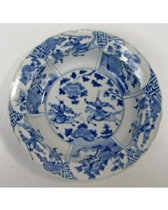 Chinees porseleinen diepe schotel, Kangxi periode, ca. 1700