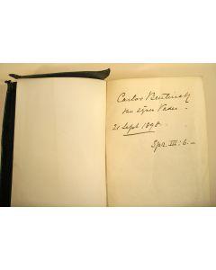 Kerkbijbel van Carlos graaf Bentinck, 1898