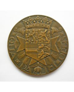 Jaarpenning VPK, 1929 (#2), Johan Maurits van Nassau [Chris van der Hoef]