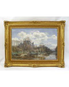 Willem Bastiaan Tholen, Kasteel de Cannenburgh, aquarel