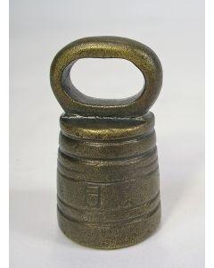 Krukgewicht van 1/8 pond, Groningen, 1819