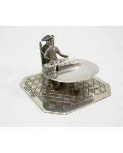 Miniatuur zilveren notaris