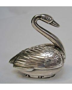 Zilveren peperstrooier, zwaantje, 1894