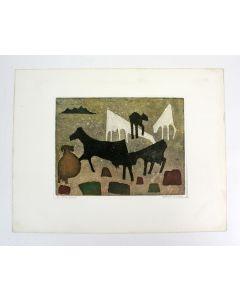 Harry van Kruiningen, Dierlijke figuren, kleurenets
