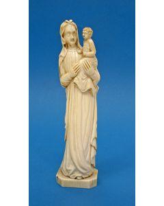 Ivoren Madonnabeeld, Dieppe, 17e/18e eeuw