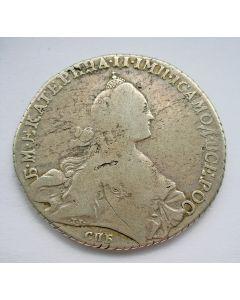Rusland, 1 roebel 1770