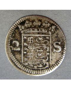 Geoctrooieerde Munt van Enkhuizen, dubbele stuiver 1678