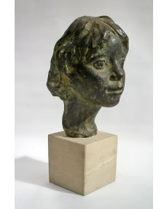 Anne Hofte, portret van Dina, 1954