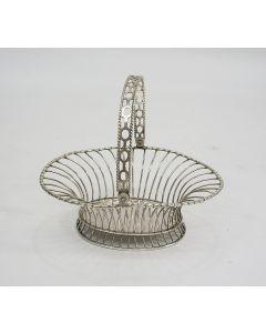 Zilveren kluwenmandje, Van Giffen, Groningen eind 18e eeuw