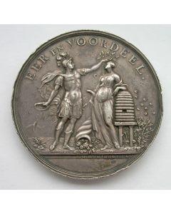 Prijspenning van de Nederlandsche Maatschappij ter Bevordering van Nijverheid, op naam van F.H. Kleine, Haarlem 1860. [Door Holtzhey]