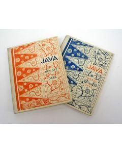 'Java deel I' en 'Java deel II', Droste plaatjesalbums, 1934 en 1936