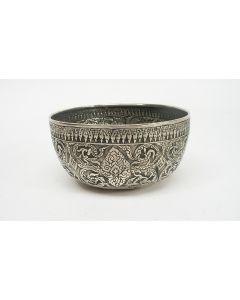 Chinese zilveren kom,  ca. 1900