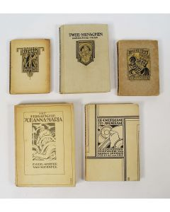 Collectie boekbanden, P.A.H. Hofman, jaren '20