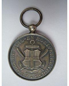 Prijsmedaille, Zwolsche Zeil- en Roeivereeniging, 1900