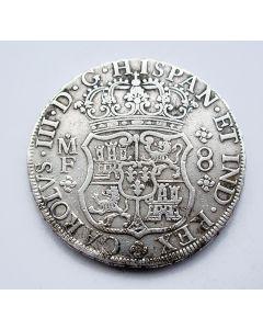 Mexico, 8 reales or pillar dollar, 1766