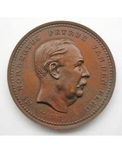 Penning, Norbertus Petrus van den Berg, president van de Javasche bank, 1889