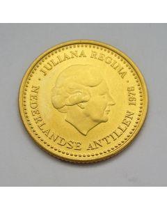 Nederlandse Antillen, 100 gulden goud, 1978
