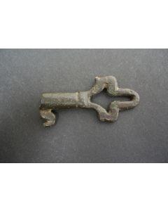 Gotische bronzen sleutel