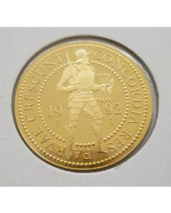 Dubbele gouden dukaat, 1992
