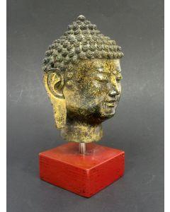 Bronzen Boeddhakop